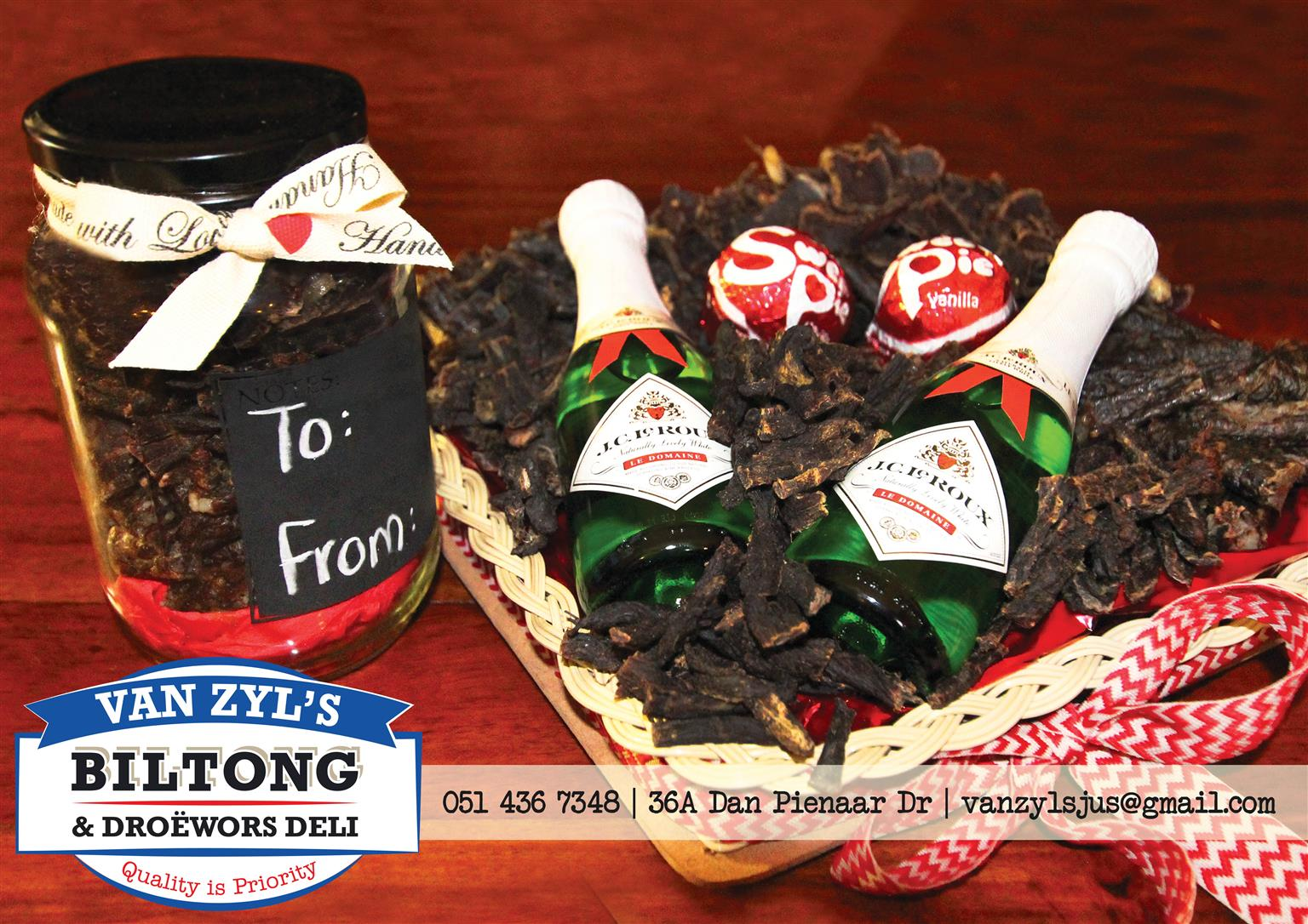 Biltong hampers- Valentines day special!!