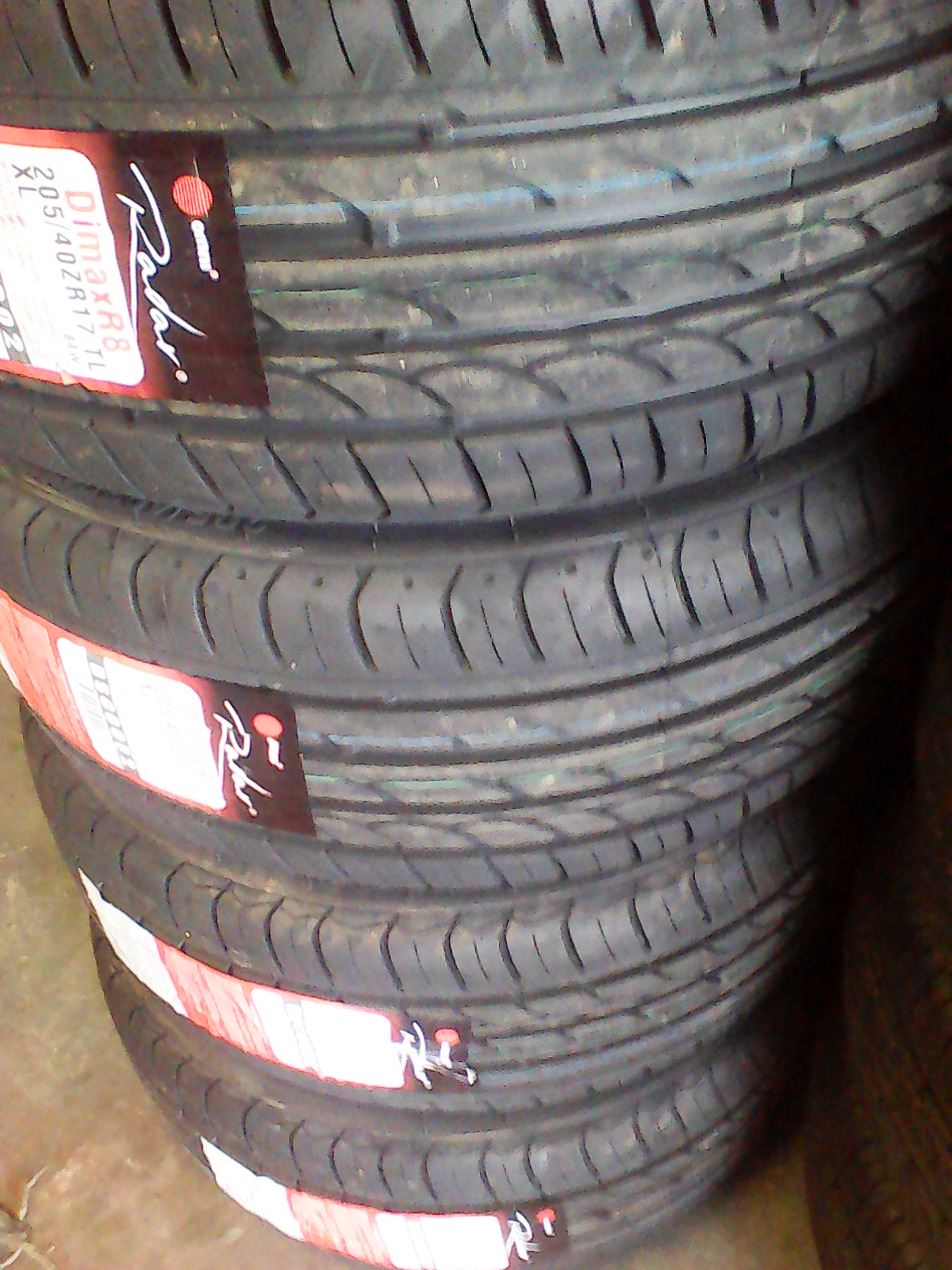 205/40/17 new tyres only R799 each