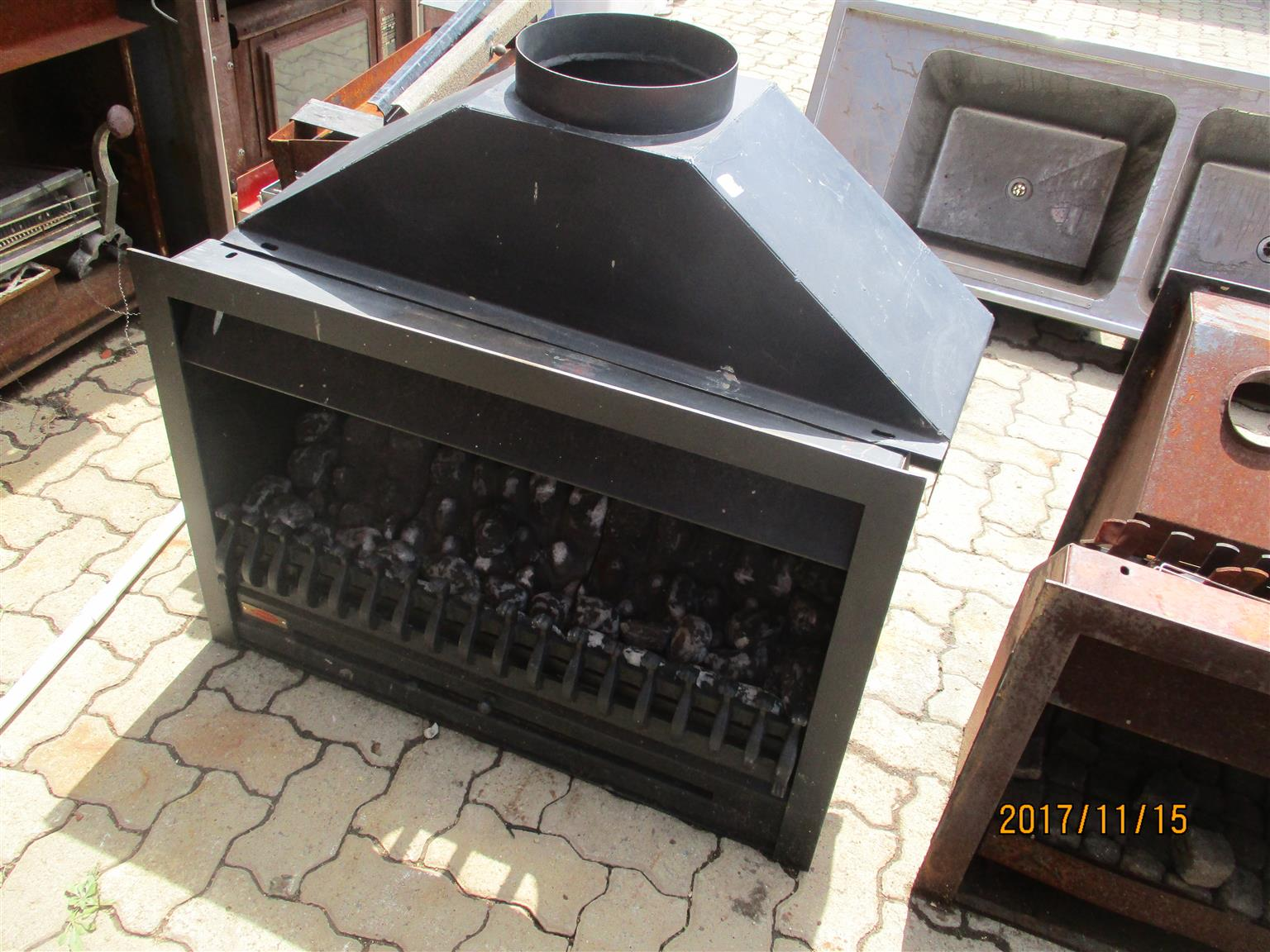 Used Jet master gas fireplace for sale in good condition