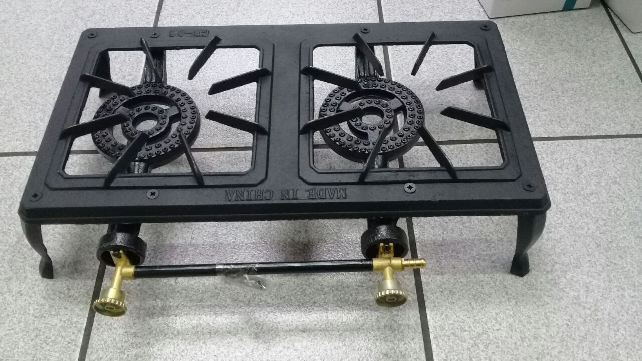 Two plate gas stove (new)