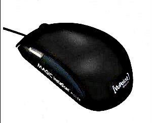 MAGIC InstaScan™ mouse SCANNER MOUSE.SCAN WITH NO RESTRICTION IN SIZE.POWERFUL OCR SOFTWARE