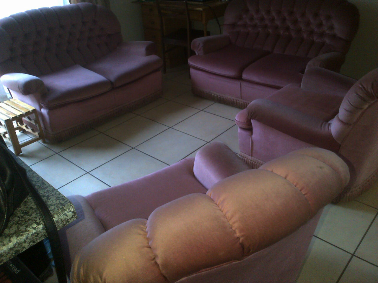Couches - 4 set