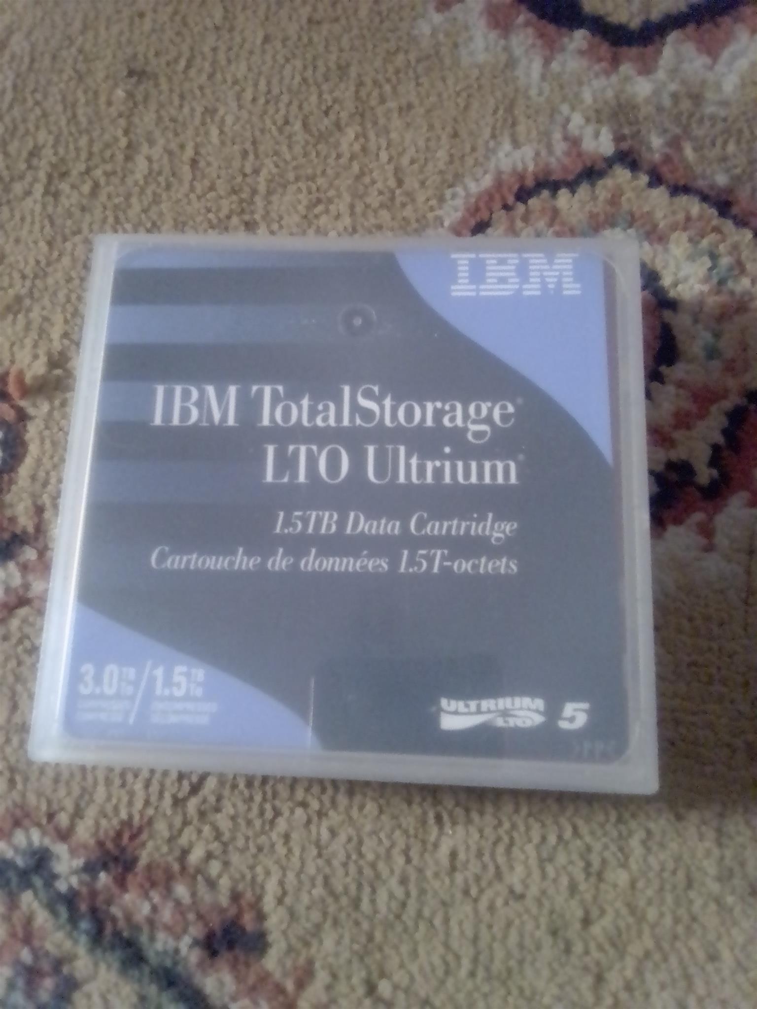 1.5tb data cartridges IBM