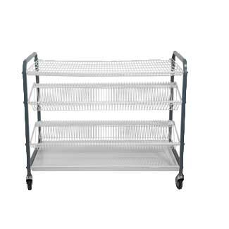 Mobile crockery rack-XY-4065