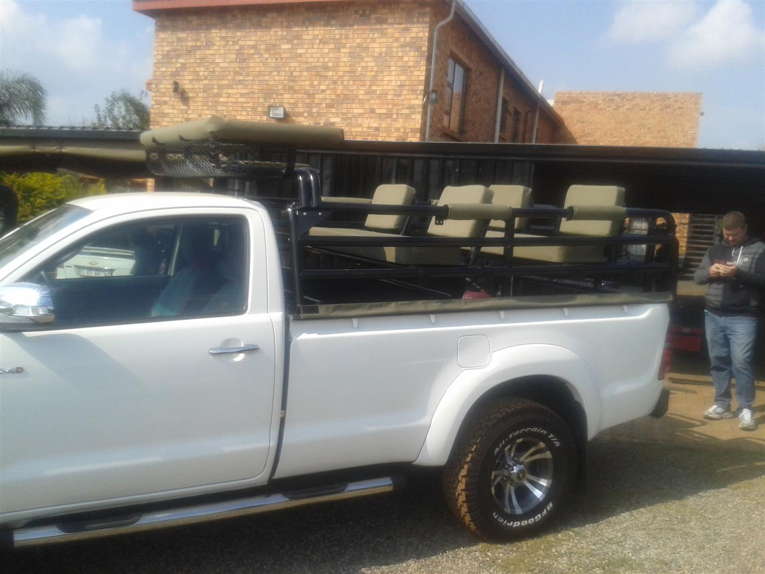 2021 cattle rail and hunting frames