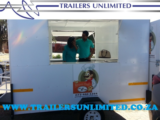 TRAILERS UNLIMITED STREET CHEF.