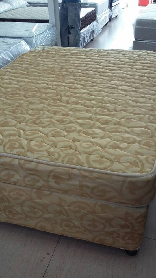 Double bed base and matress.