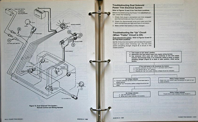 MARINER / MERCURY OUTBOARDS SERVICE MANUAL for the do-it yourself outboard owner