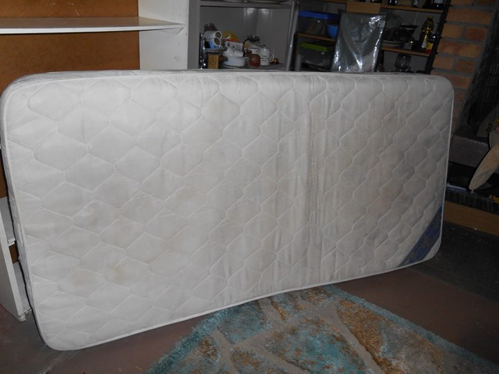 One single bed mattress only (no base)