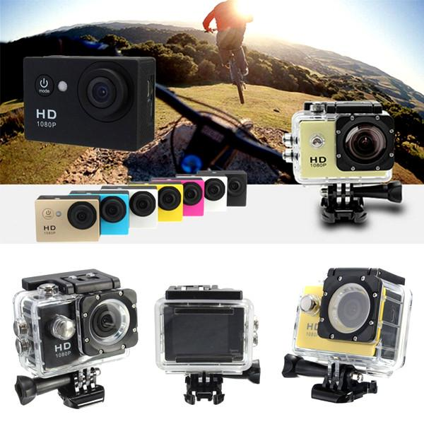 Waterproof HD Sports Camera 1080P