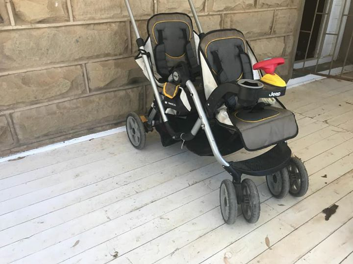 Jeep dubble toddler stroller for sale