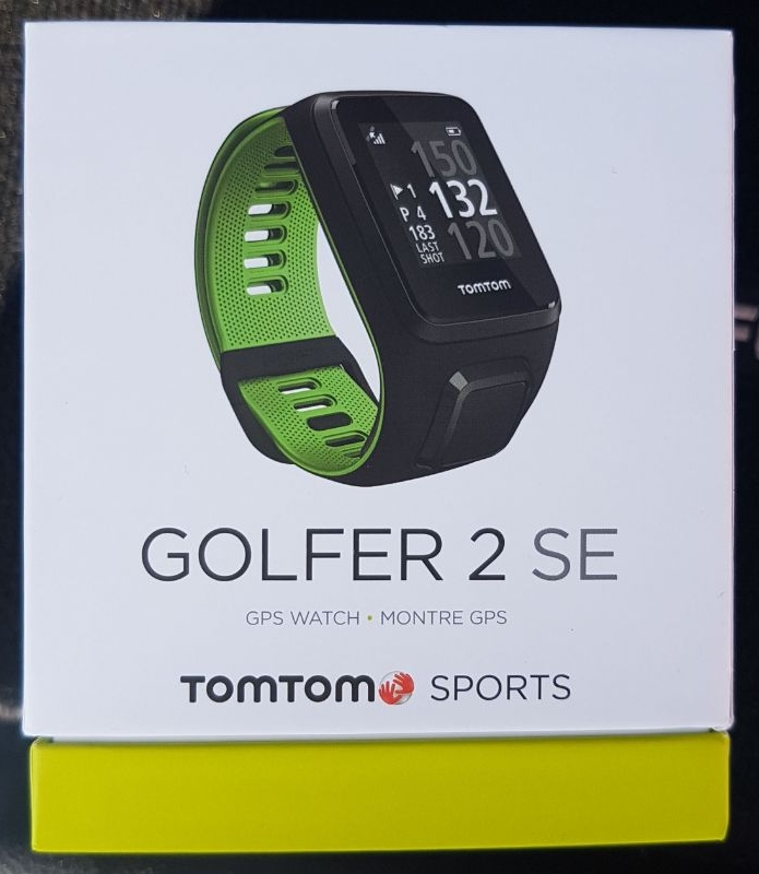Brand new Tom Tom Golfer 2 SE GPS watch
