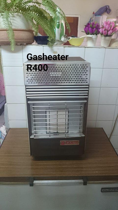 Gasheater sonder gasbottel