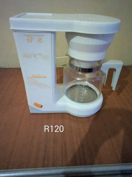 White coffee machine