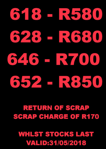 New Car Batteries for sale From R580.00