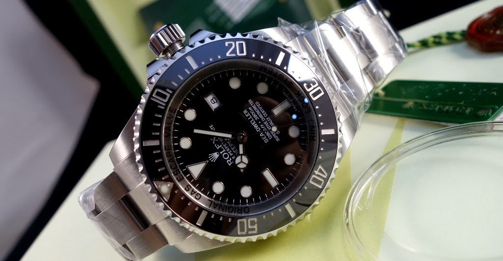 2014 ROLEX DEEPSEA SEA DWELLER 116660