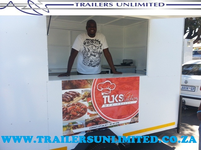 TRAILERS UNLIMITED THE FOOD CARAVAN TUKS UNIT.