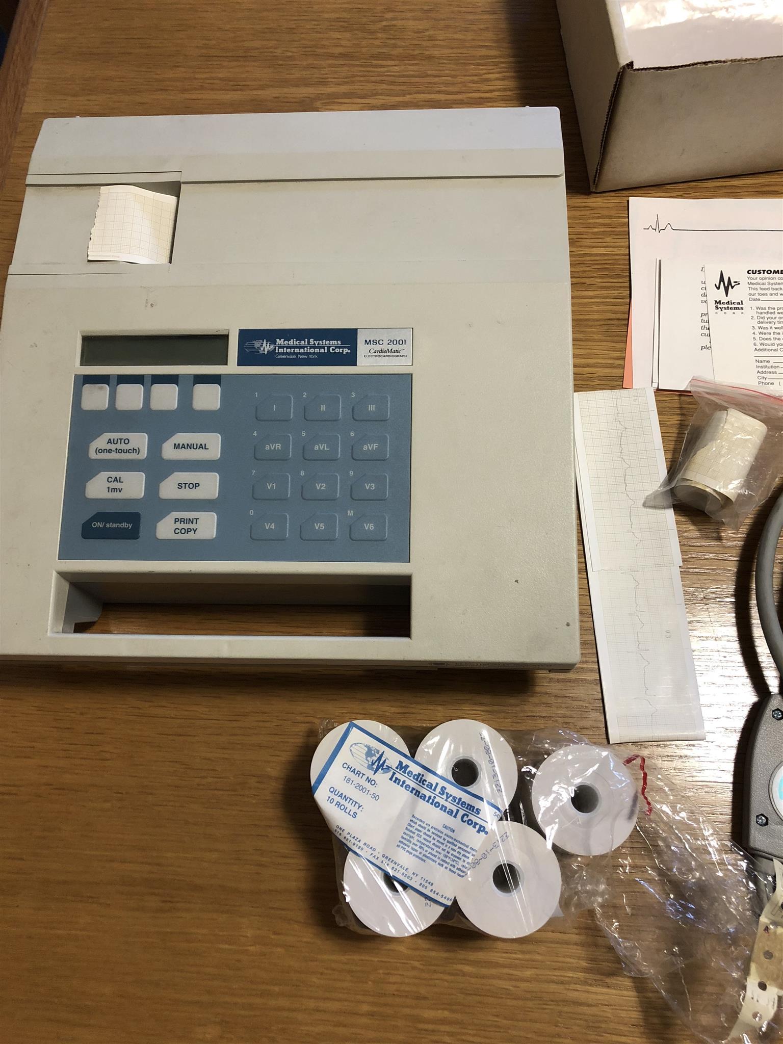 ECG Machine Electrocardiograph