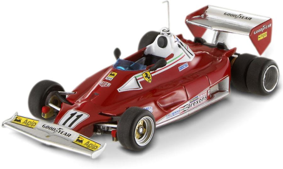 Hot Wheels Elite V8380 Ferrari 312 T2 6 Wheels Test 1977 - Niki Lauda 1/43  Scale (Limited Edition of 5000)