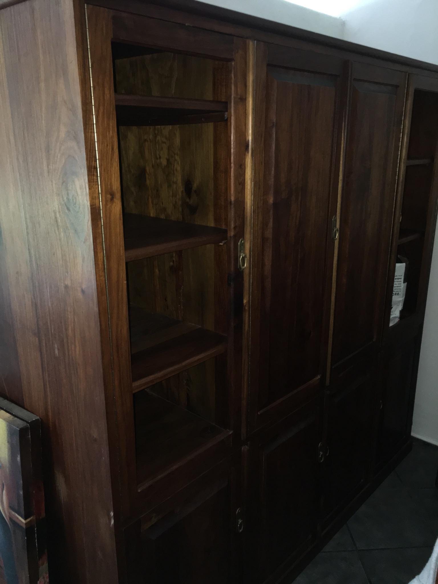 Solid wood wall unit | Junk Mail