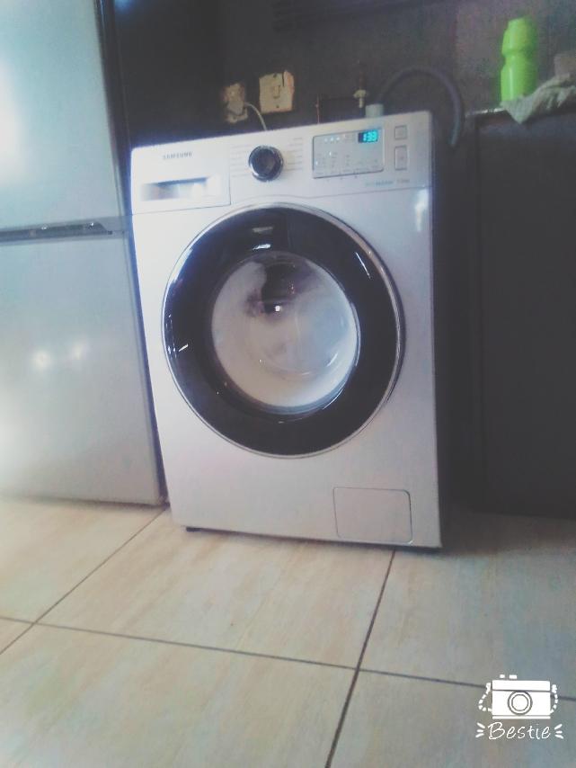 Samsung eco bubble washing machine