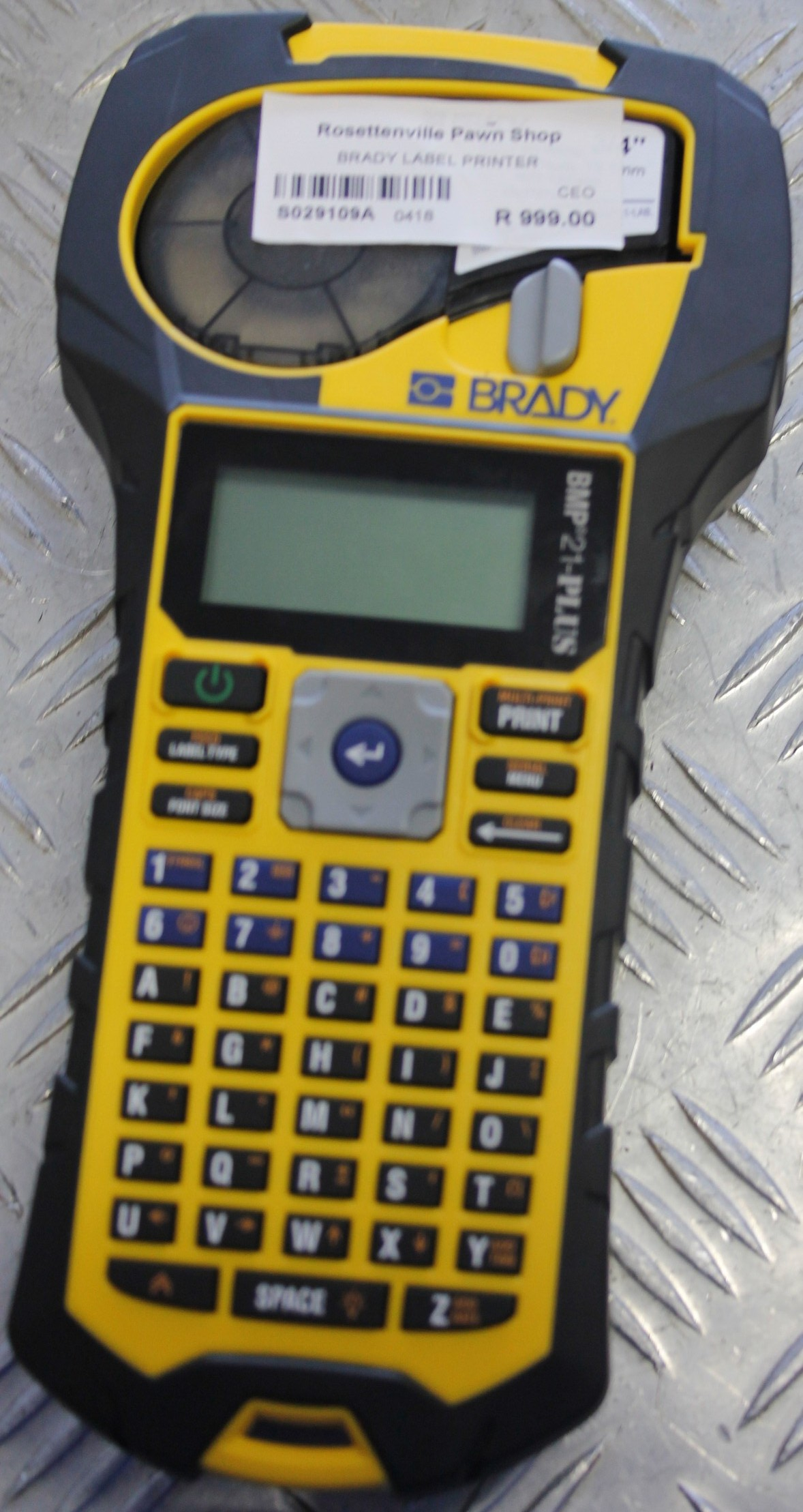 Brady label printer S029109a #Rosettenvillepawnshop