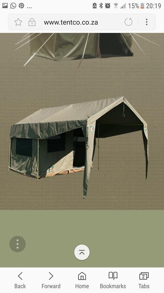 Tentco Sahara Junior canvas tent te koop.