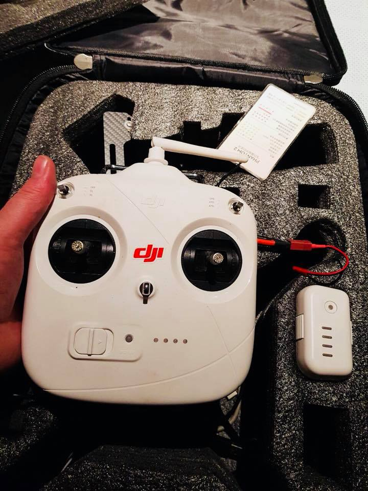 Go pro and gimbal Phantom 2 Drone