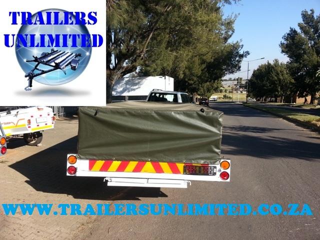 Multi Purpose Utility Trailer 4105 x 1700 x 910