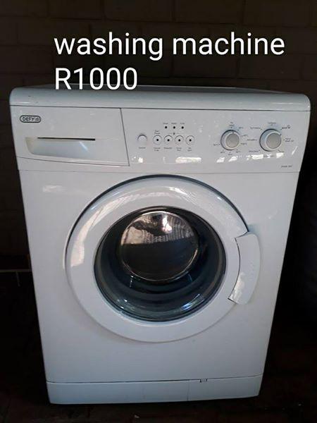 Defy frontloader washing machine