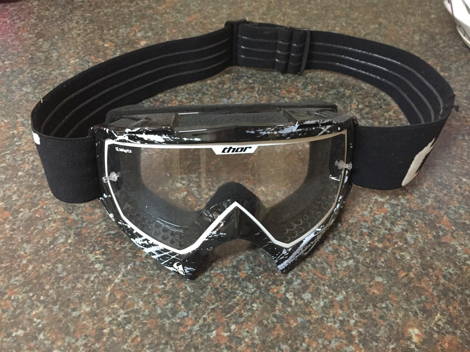 Quad bike goggles