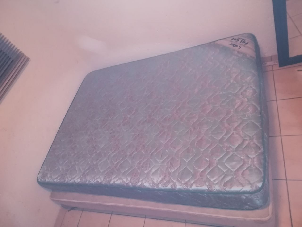 Double Bed with Electric Blanket