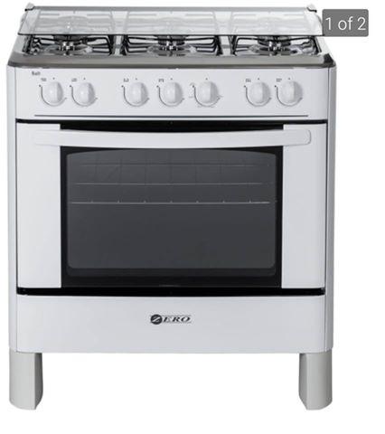 Zero appliances 6 burner gas stove