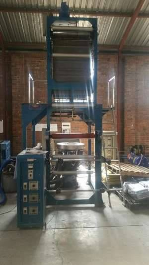 Complete plant for making bags for sale (Film extruders)