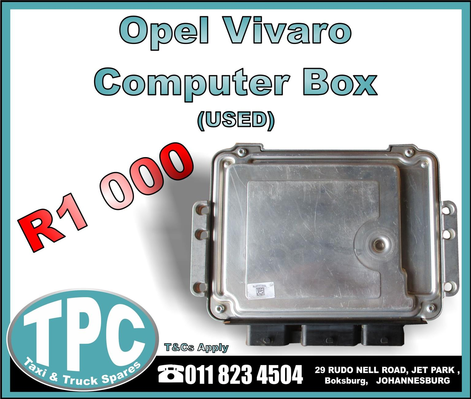 Opel Computer Box - Used -New And Used Replacement Taxi Parts - TPC.