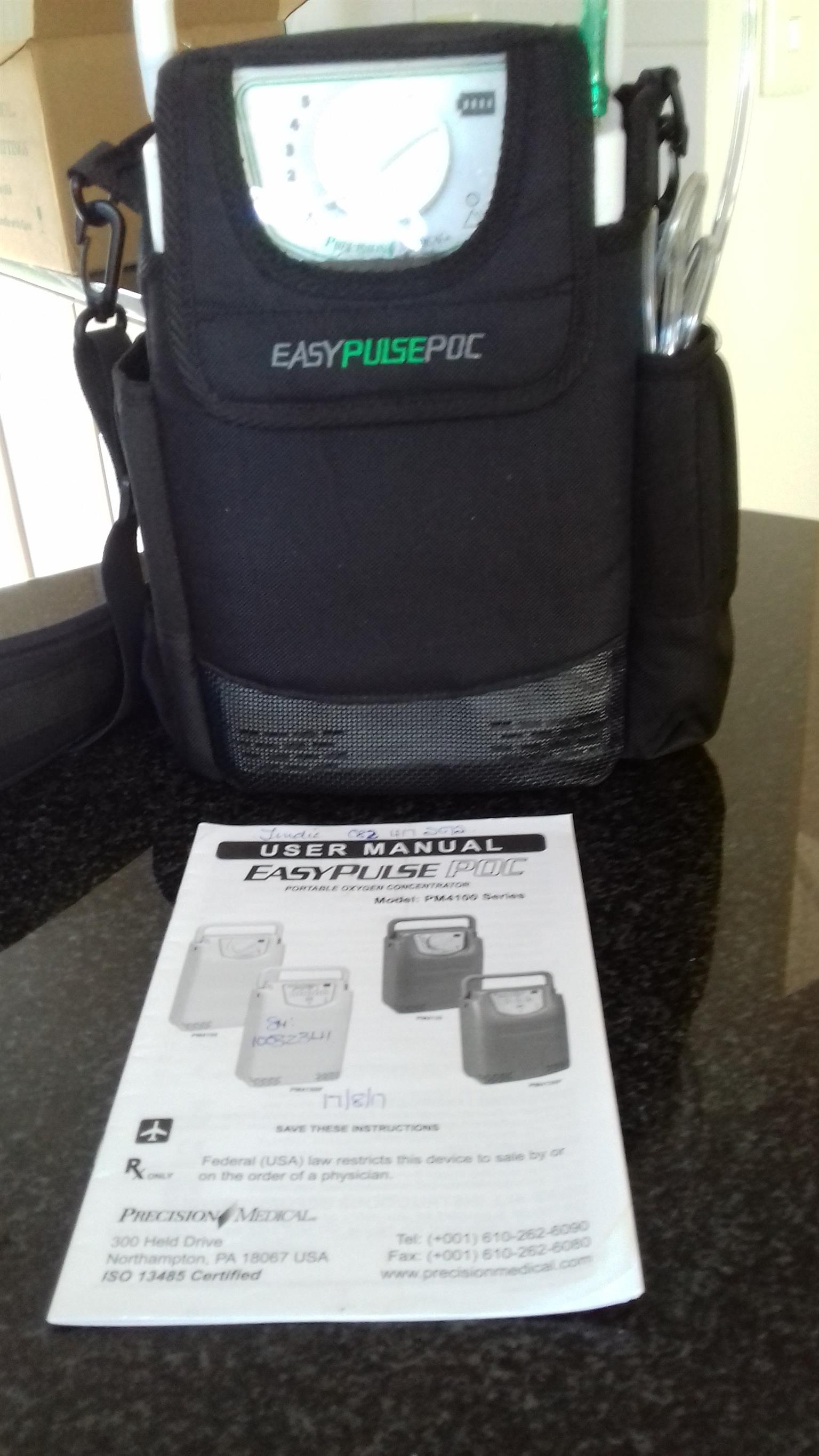 Easy Pulse Portable Oxygen Concentrator Model: PM4100 Series