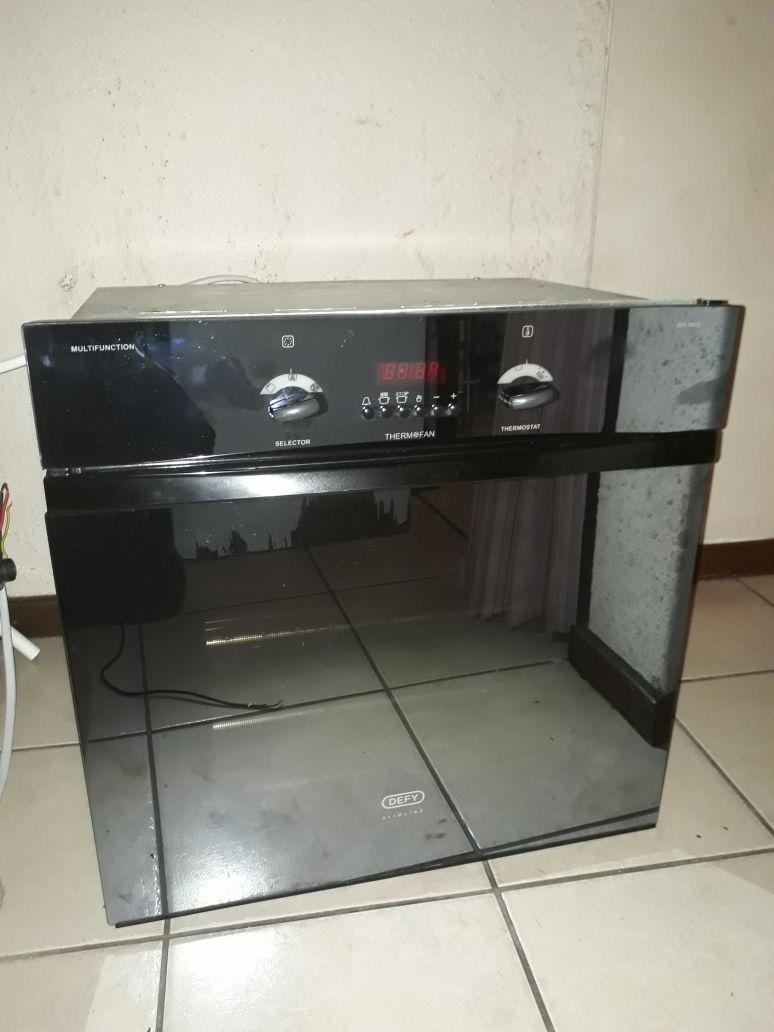 3 piece Defy stove
