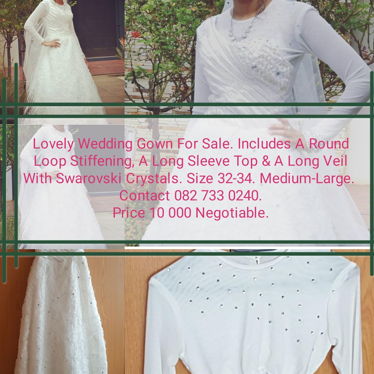 WEDDIN GOWN FOR SALE