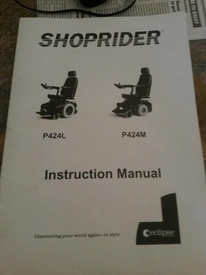 Shoprider P424M