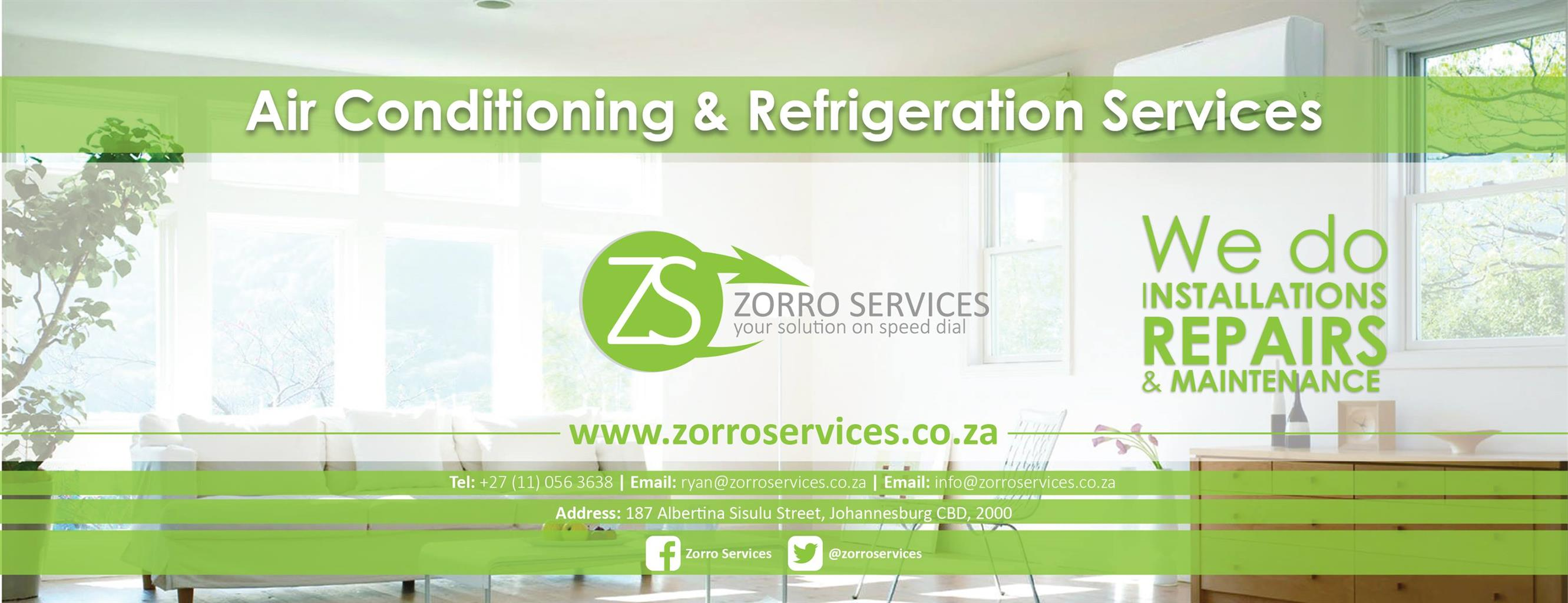Zorro Services - Air conditioning Services