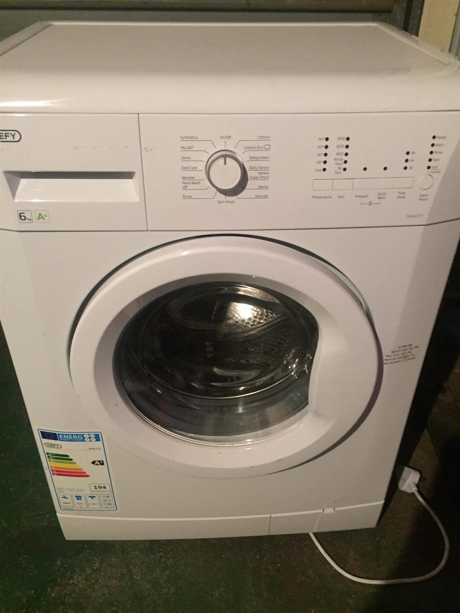 Two washing machines for sale
