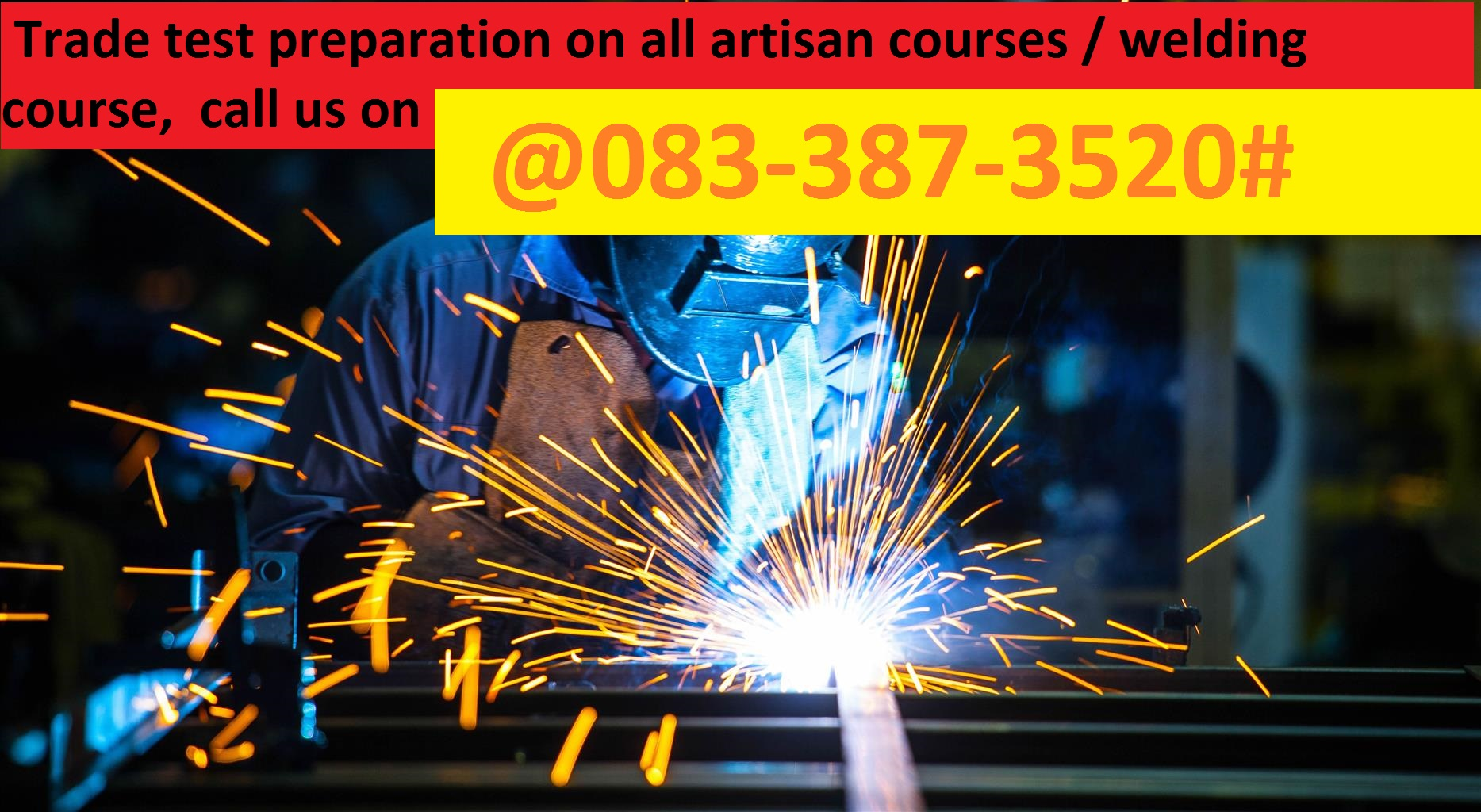 refrigeration. school of Artisan courses. school of welding courses.industrial boiler-making training. 079-455-8854