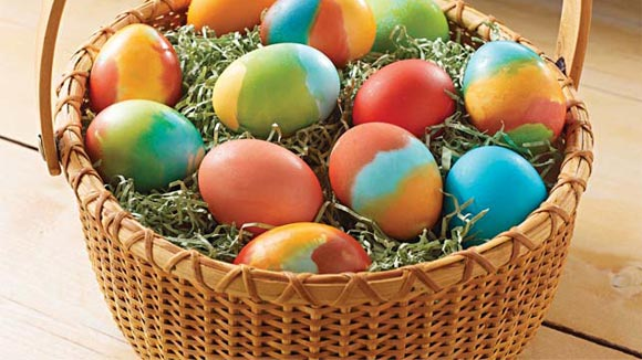 Easter Eggs for Sale Including Basket / 12 with basket R10 24 with basket R19