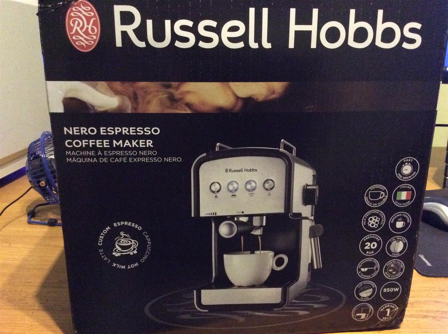 Russell Hobbs RH1916 Nero Espresso Coffee Maker for sale