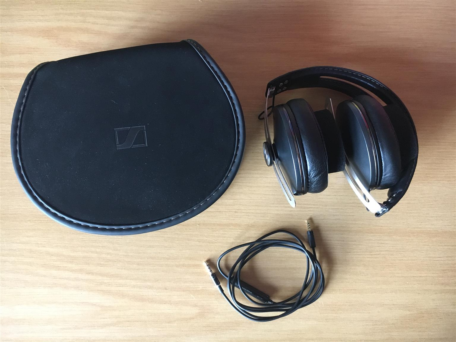 Sennheiser Momentum 20 Black M2 Aei Over Ear Headphones Junk Mail 2i