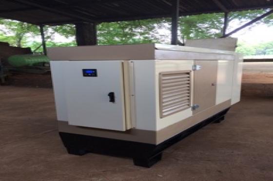 New silent 60kVA generator.