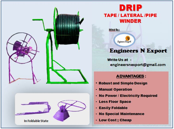 Drip Tape/pipe Winder
