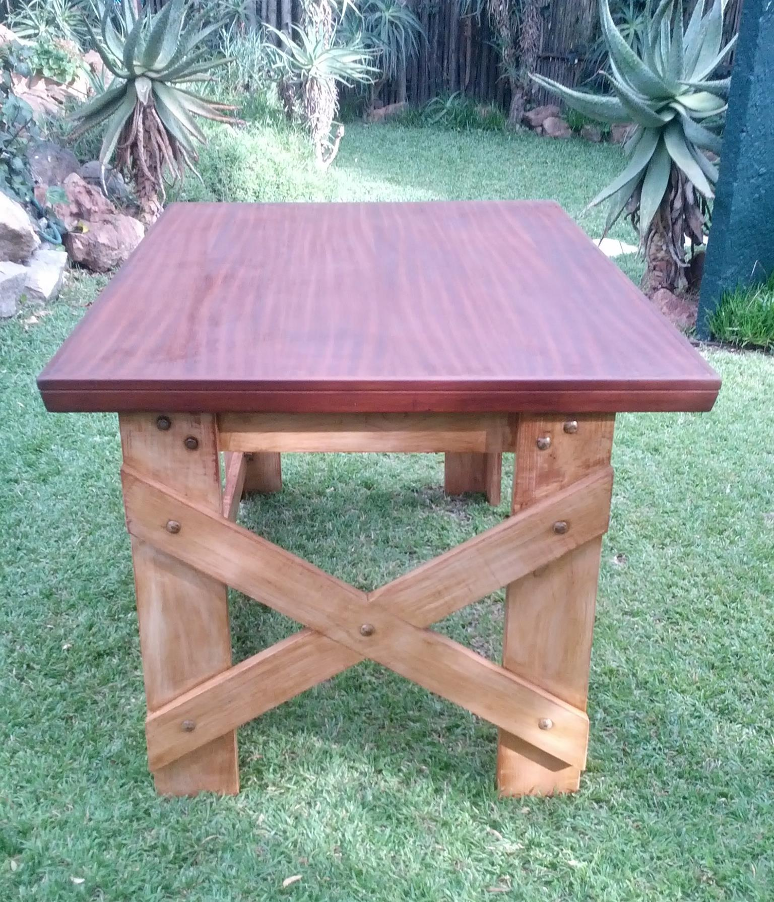 Work table - standing height