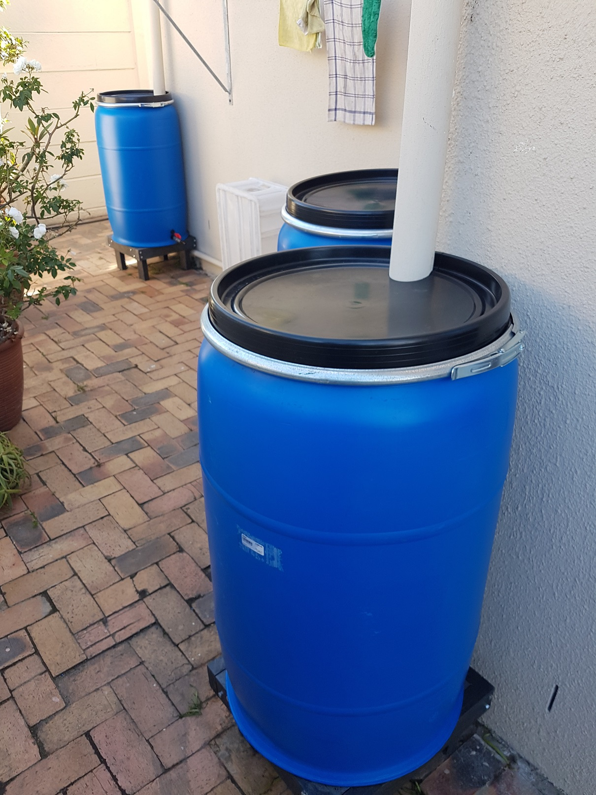 New drain water catching system designed for al houses and complexes - Big or small.