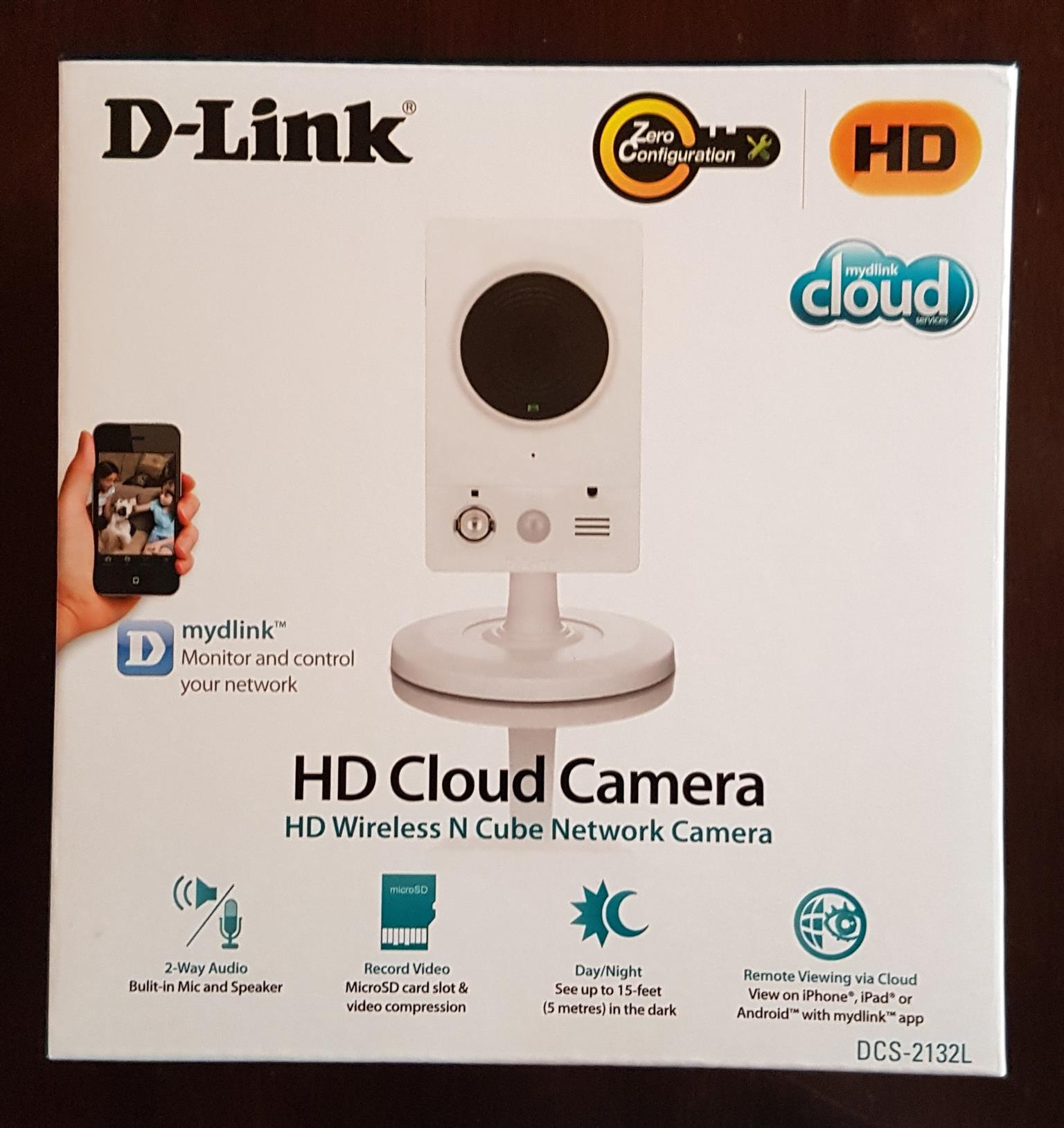 D-Link HD Cloud Camera